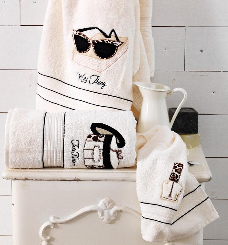 Πετσέτες Μπάνιου (Σετ 3τμχ) Palamaiki VIP Towels 12/01