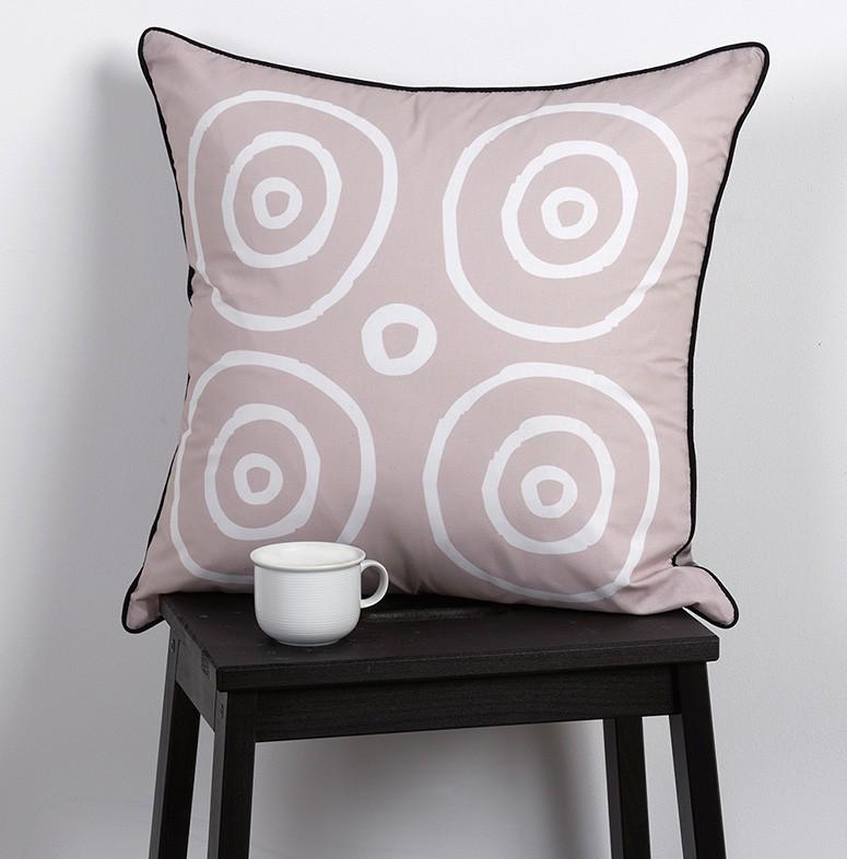 Διακοσμητική Μαξιλαροθήκη 2Όψεων Kentia Loft Mikines 14 home   κρεβατοκάμαρα   διακοσμητικά μαξιλάρια