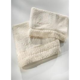 Πετσέτες Μπάνιου (Σετ 3τμχ) Guy Laroche Chloe Ivory