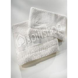 Πετσέτες Μπάνιου (Σετ 3τμχ) Guy Laroche Chloe White