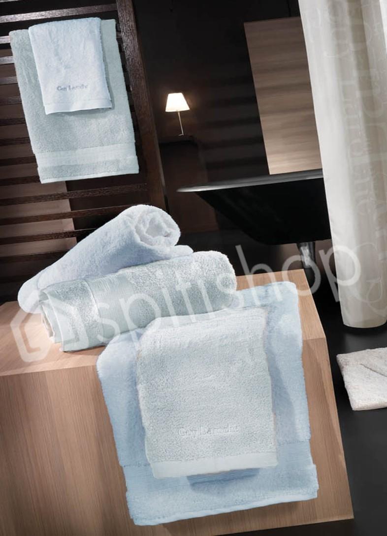Πετσέτες Μπάνιου (Σετ 3τμχ) Guy Laroche Tartan Blue