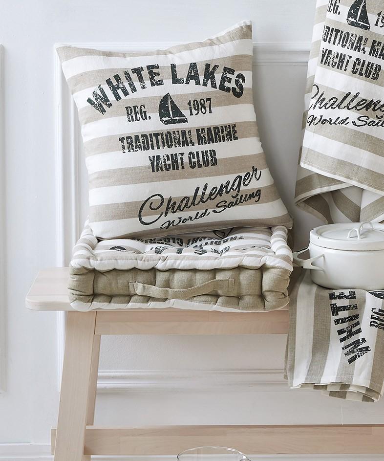Διακοσμητικό Μαξιλάρι Kentia Kitchen White Lakes 12