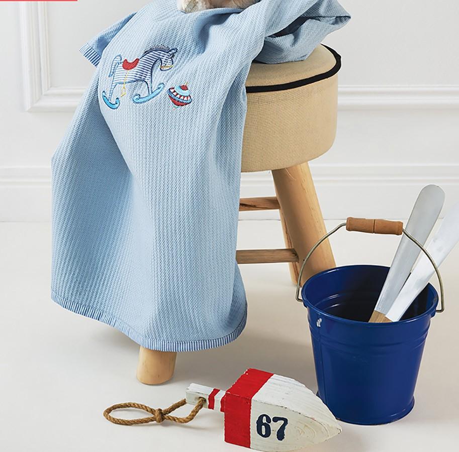 Κουβέρτα Πικέ Αγκαλιάς Kentia Baby Toys