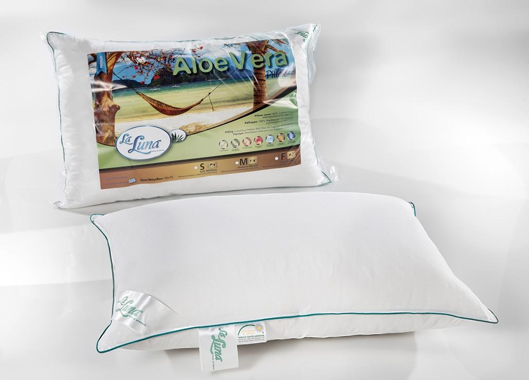 Μαξιλάρι Ύπνου La Luna Aloe Vera Medium home   κρεβατοκάμαρα   μαξιλάρια   μαξιλάρια ύπνου