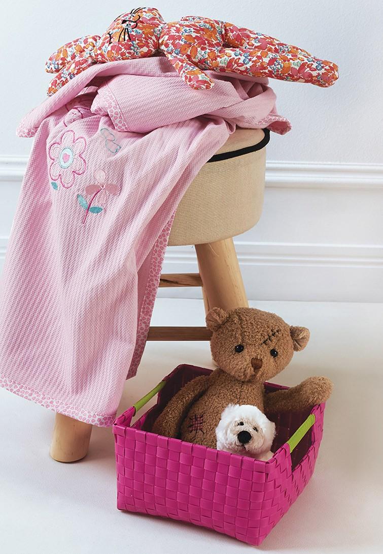 Κουβέρτα Πικέ Κούνιας Kentia Baby Garden home   βρεφικά   κουβέρτες βρεφικές   κουβέρτες καλοκαιρινές
