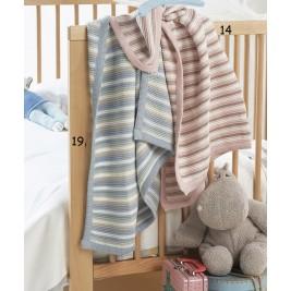 Κουβέρτα Πλεκτή Αγκαλιάς Kentia Baby Abi