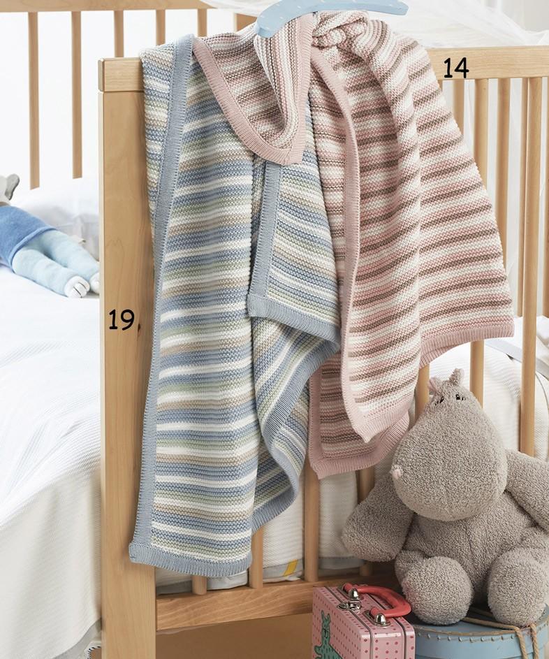 Κουβέρτα Πλεκτή Αγκαλιάς Kentia Baby Abi home   βρεφικά   κουβέρτες βρεφικές   κουβέρτες πλεκτές