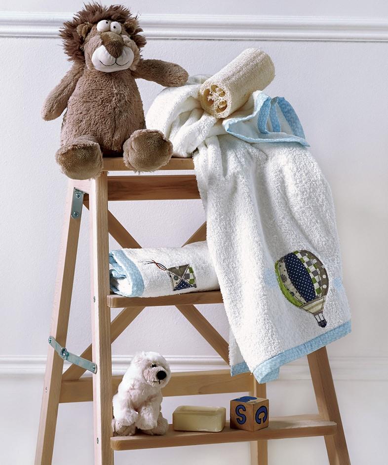 Βρεφικές Πετσέτες (Σετ 2τμχ) Kentia Baby Globo