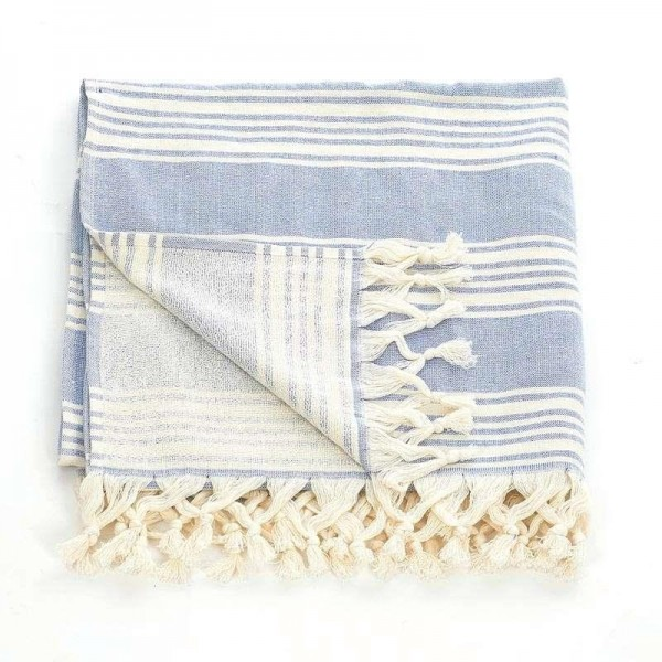 Πετσέτα Θαλάσσης-Παρεό InArt Ble 5-46-074-0008