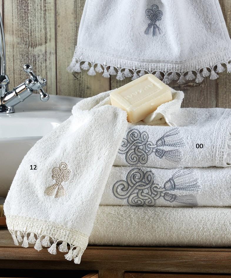 Πετσέτες Μπάνου (Σετ 2τμχ) Kentia Versus Gina