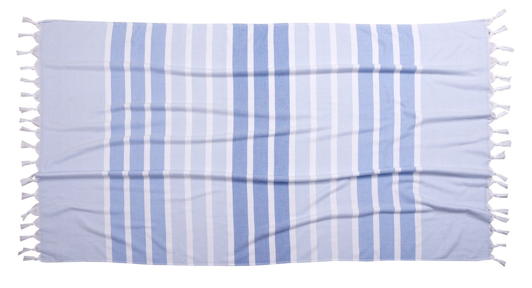 Πετσέτα Θαλάσσης-Παρεό Anna Riska Santorini Blue