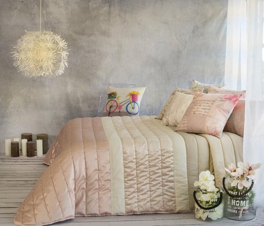 Κουβερλί Υπέρδιπλο (Σετ) White Clouds Nani Rosa home   κρεβατοκάμαρα   κουβερλί   κουβερλί υπέρδιπλα