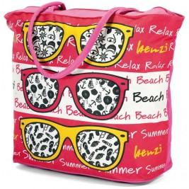 Τσάντα Παραλίας Benzi 4586 Pink
