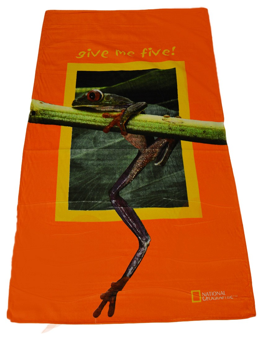 Πετσέτα Θαλάσσης National Geographic Frog