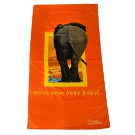 Πετσέτα Θαλάσσης National Geographic Elephant