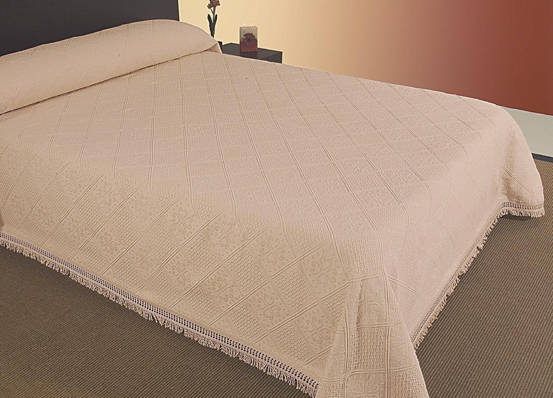 Κουβερτόριο Μονό Viopros Κονκάλα Μπεζ home   κρεβατοκάμαρα   κουβέρτες   κουβέρτες καλοκαιρινές μονές
