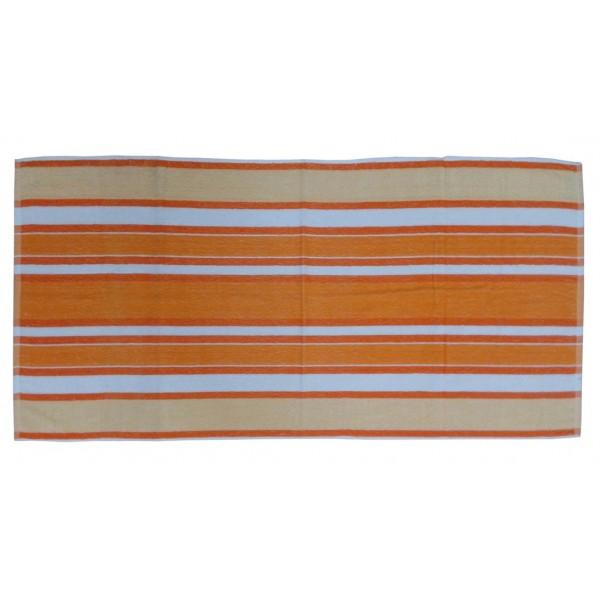 Πετσέτα Θαλάσσης Viopros Κόραλ Πορτοκαλί