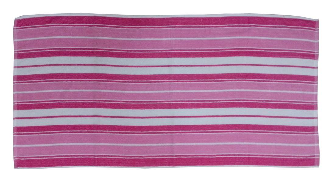 Πετσέτα Θαλάσσης Viopros Κόραλ Φούξια