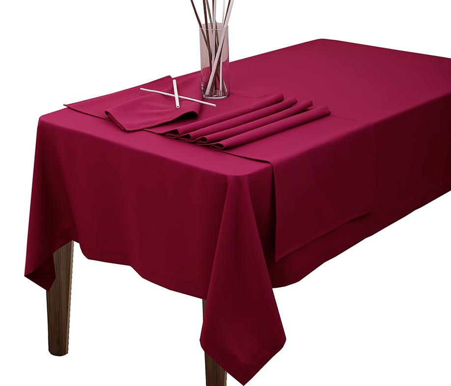 Τραπεζομάντηλο Viopros Άρμονι Λίσο Φούξια 160×250 160×250
