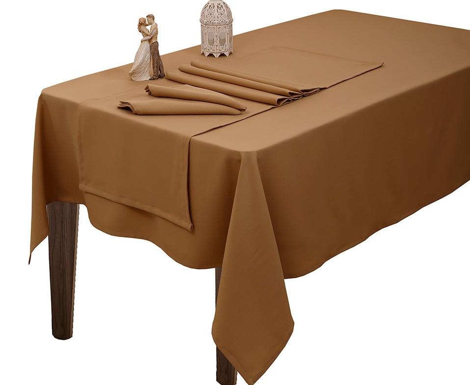 Σεμέν (Σετ 4τμχ) Viopros Άρμονι Λίσο Μπεζ home   κουζίνα   τραπεζαρία   καρέ