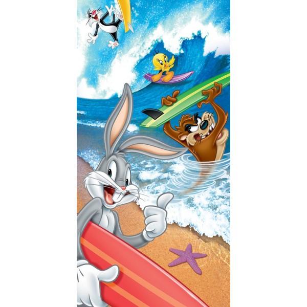 Παιδική Πετσέτα Θαλάσσης Viopros Looney Tunes 1