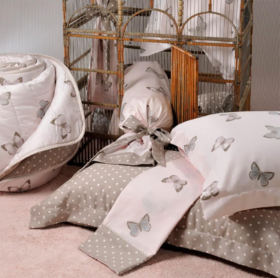 Κουβερλί Μονό (Σετ) Down Town Butterfly Beige S 646 home   κρεβατοκάμαρα   κουβερλί   κουβερλί μονά