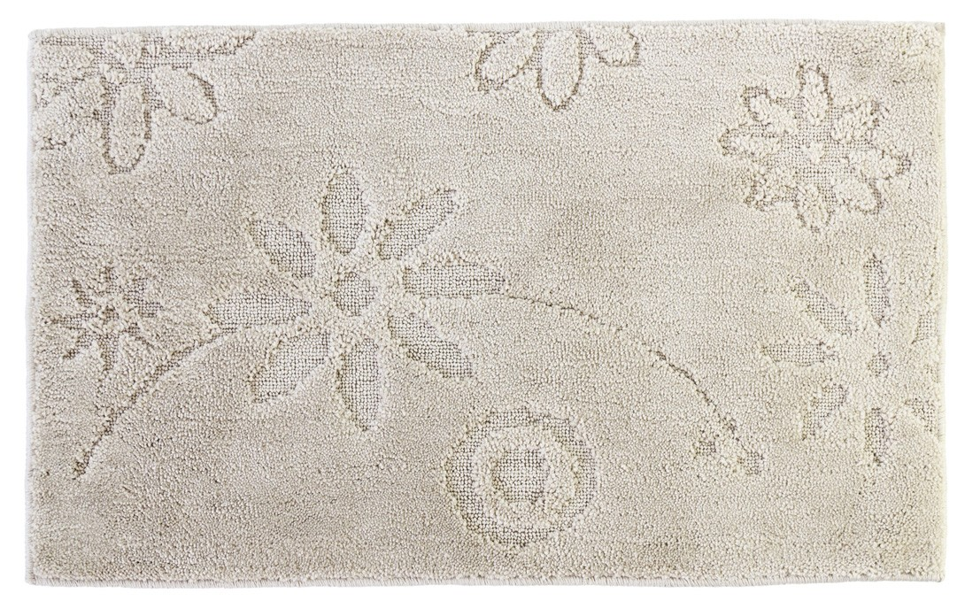 Πατάκι Μπάνιου (50x80) Dimitracas Madison 05822 Beige Flower