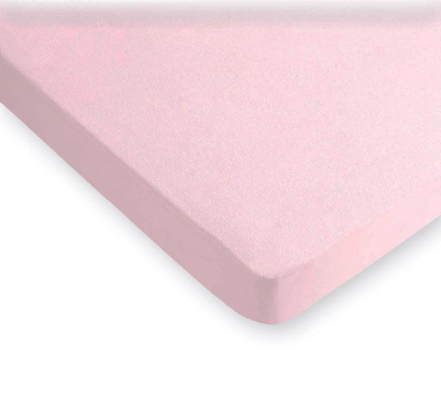 Κάλυμμα Στρώματος Πετσετέ Υπέρδιπλο La Luna Ροζ