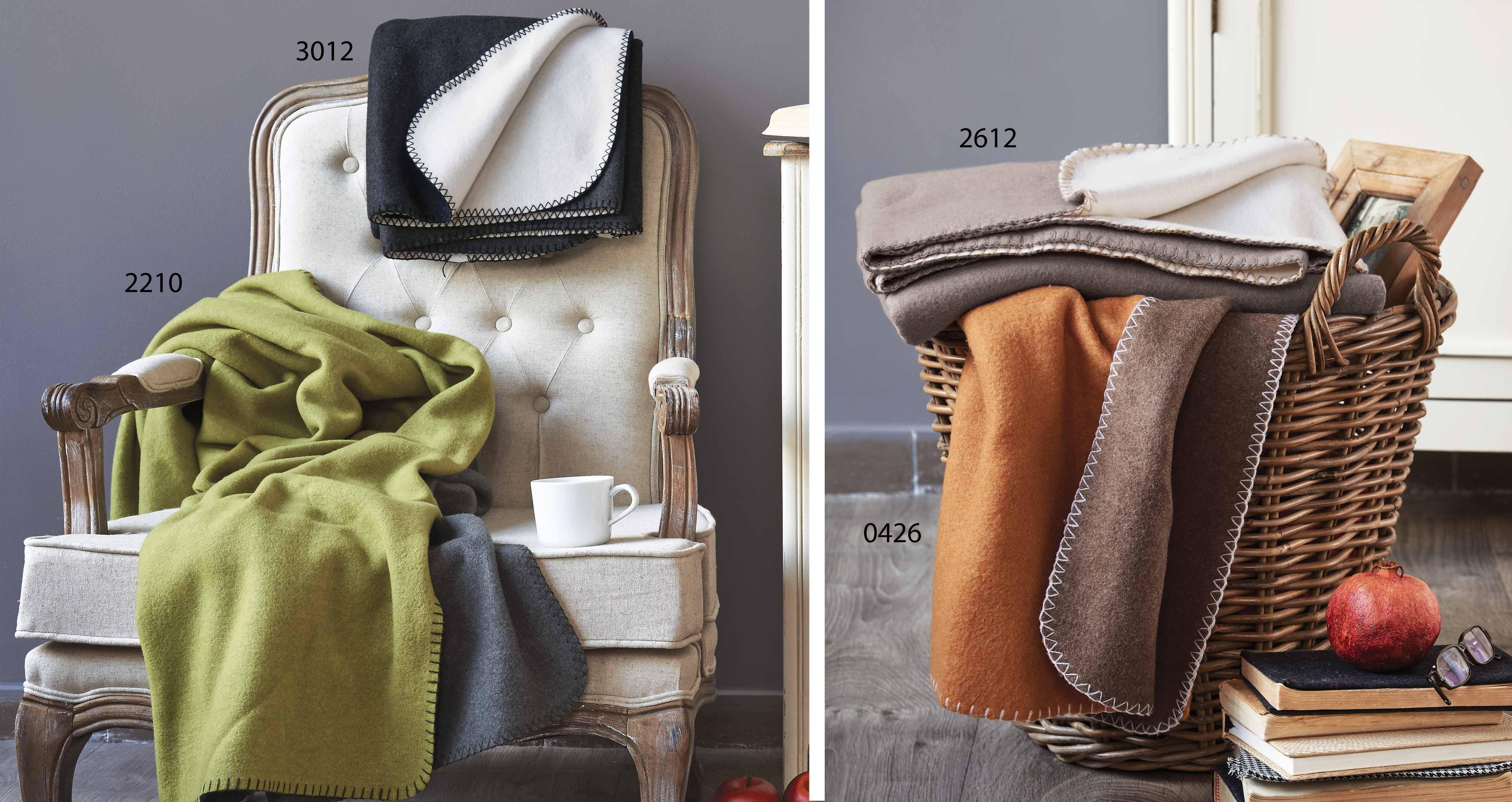 Κουβέρτα Καναπέ Fleece Διπλής Όψης Kentia Stylish Tally