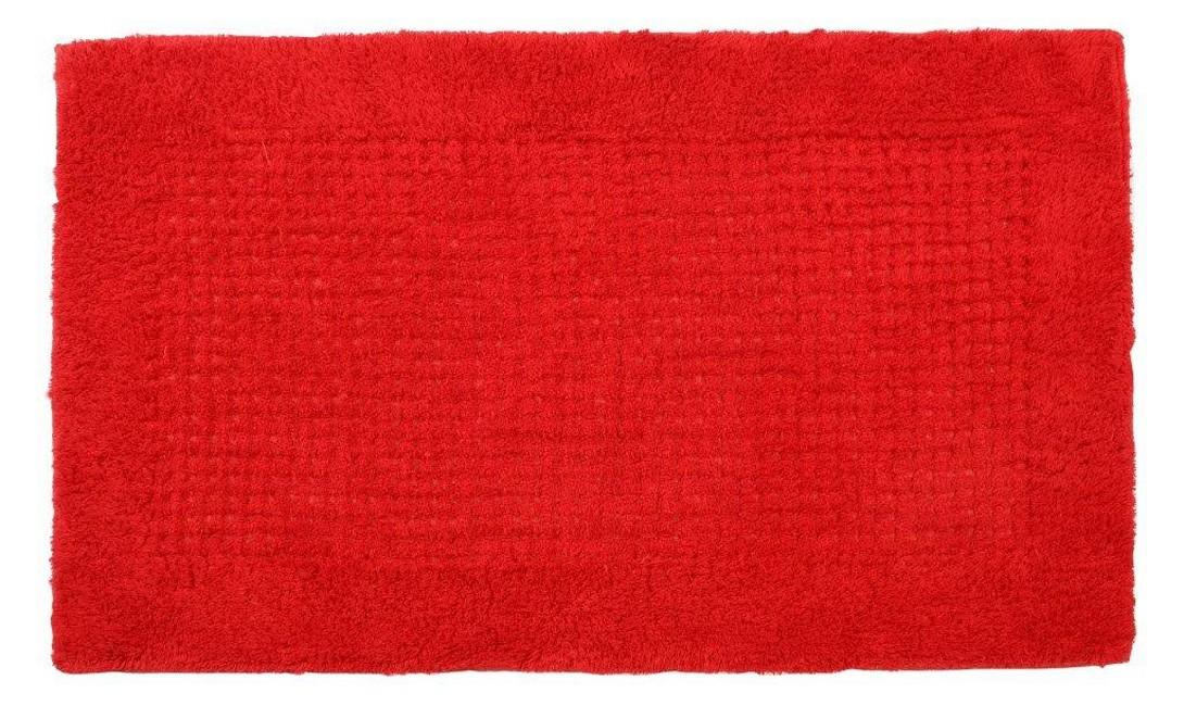 Πατάκι Μπάνιου (60×100) MC Decor Cotton Red