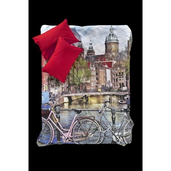 Παπλωματοθήκη Υπέρδιπλη (Σετ) Nima Focus Amsterdam