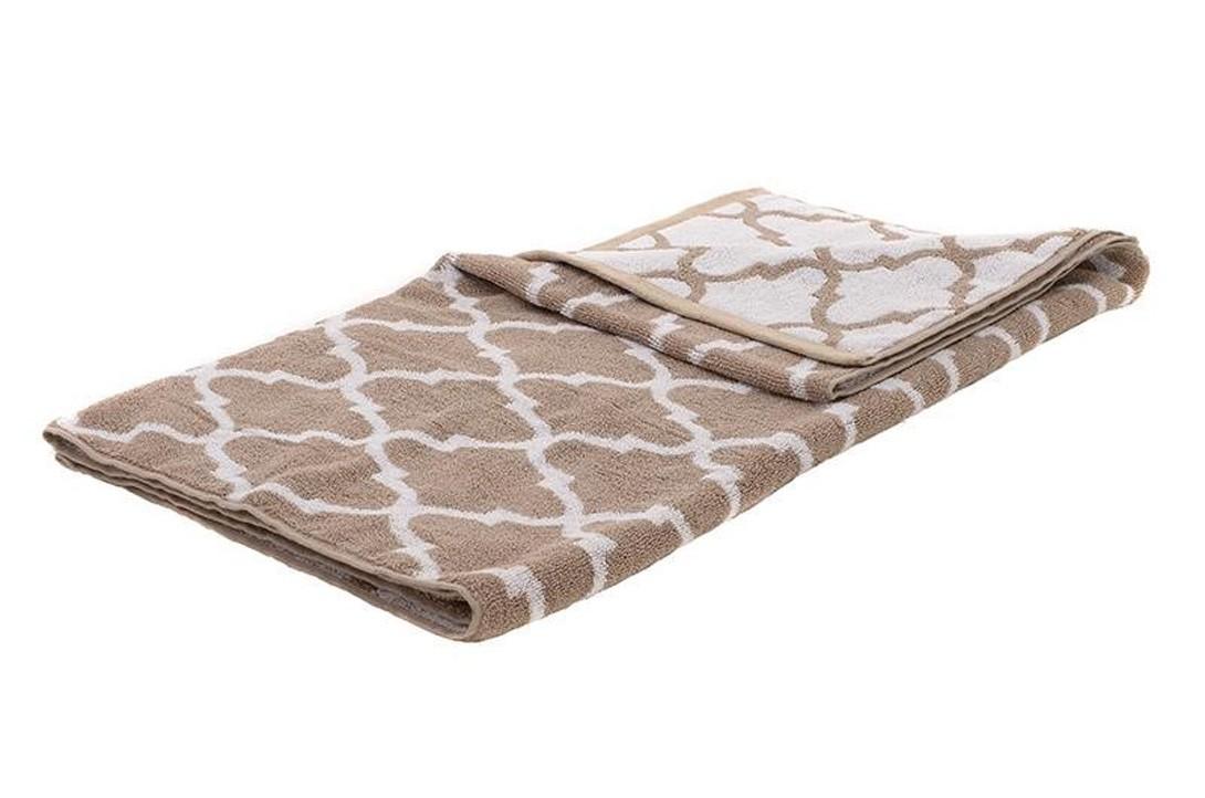 Πετσέτα Θαλάσσης InArt Ble Trend Beige 5-46-532-0007