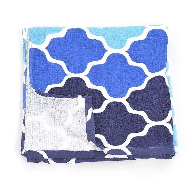 Πετσέτα Θαλάσσης InArt Ble Cubes 5-46-537-0001