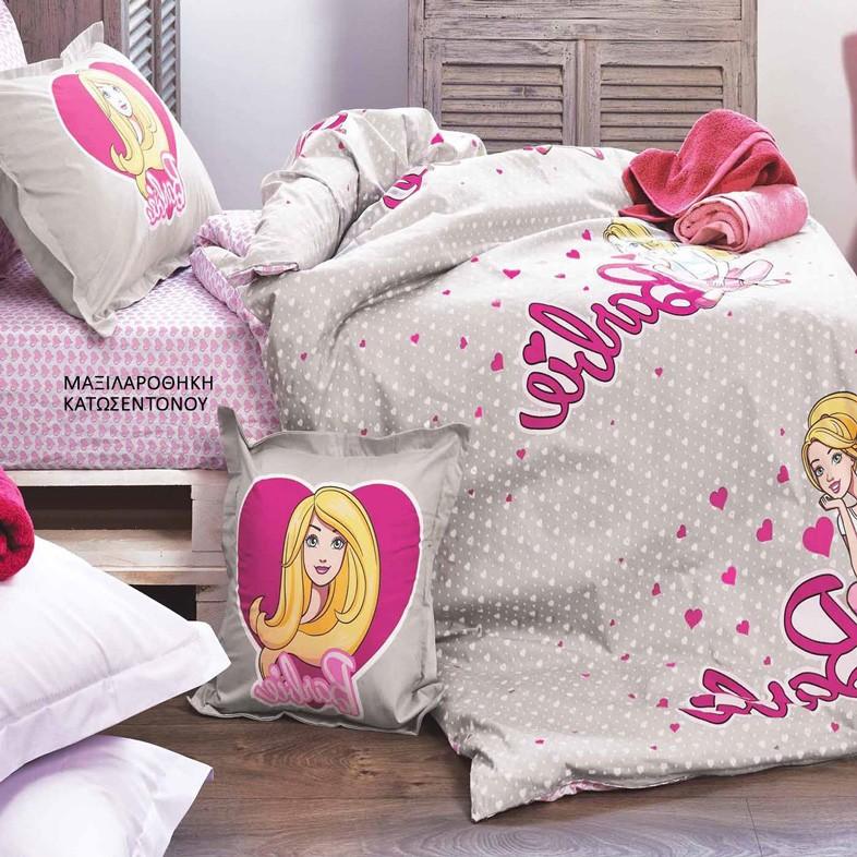 Μαξιλαροθήκη Κατωσέντονου Kentia Kids Collection Barbie 514