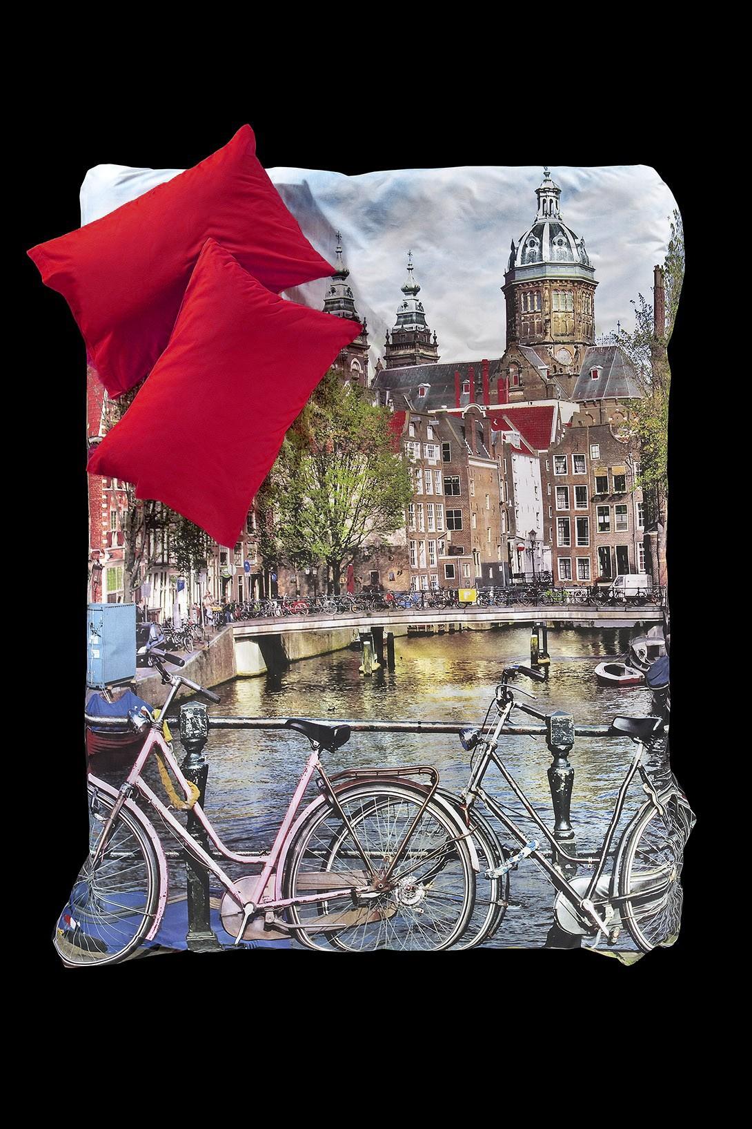 Παπλωματοθήκη Ημίδιπλη (Σετ) Nima Focus Amsterdam 34109