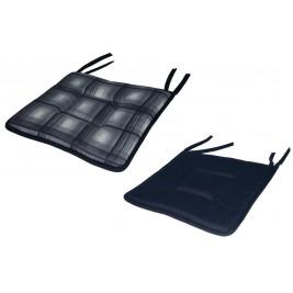 Μαξιλάρι Καρέκλας 2 Όψεων Fratoni DobleCara Black