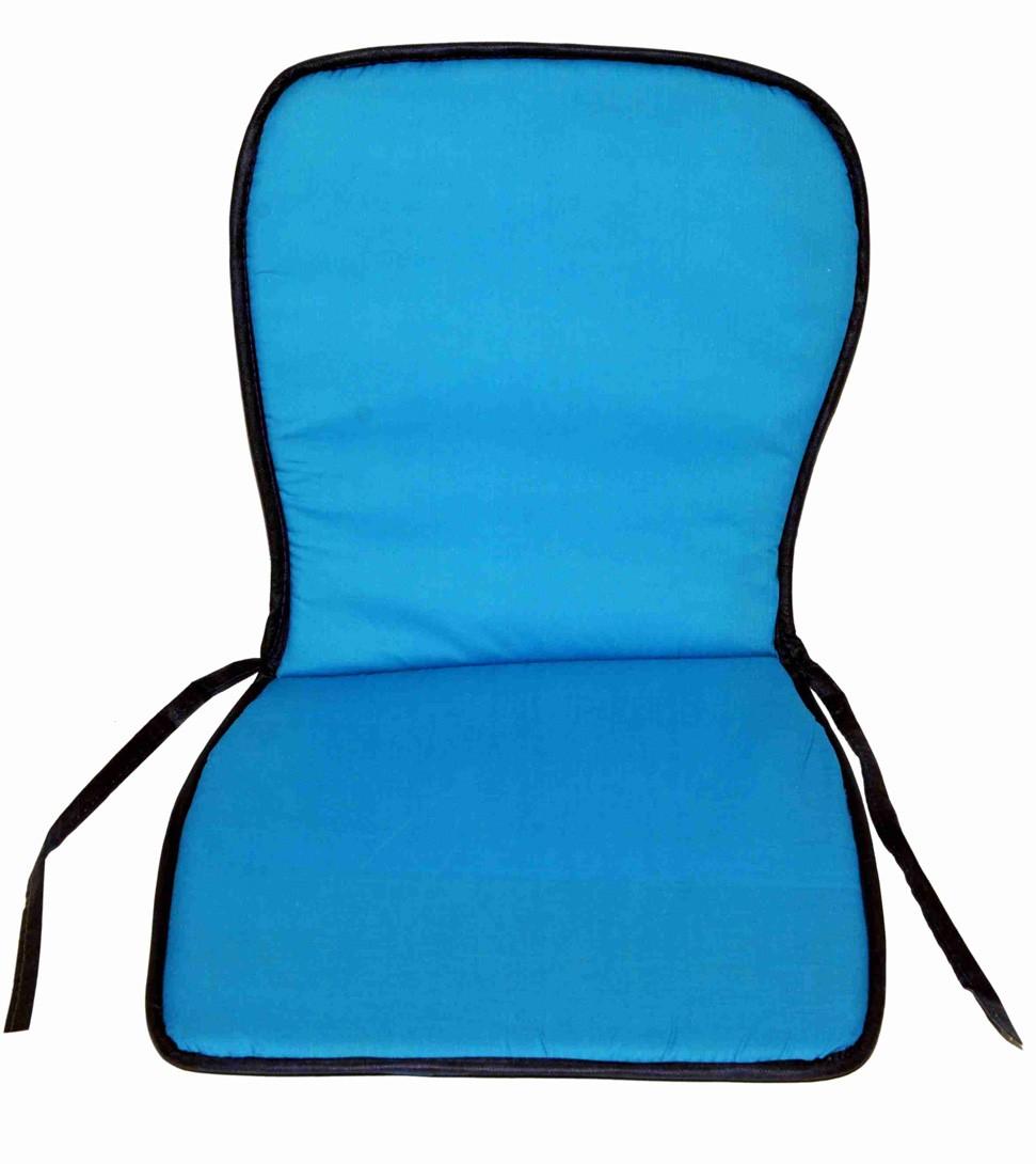 Μαξιλάρι Καρέκλας Κιθάρα Με Πλάτη Fratoni Turquoise