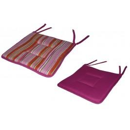 Μαξιλάρι Καρέκλας 2 Όψεων Fratoni DobleCara Pink