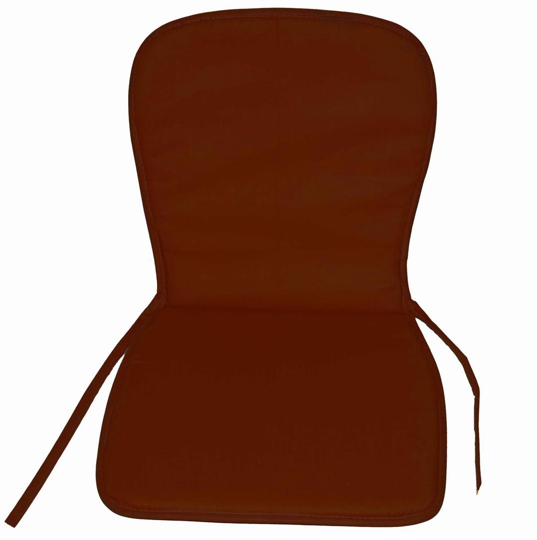 Μαξιλάρι Καρέκλας Κιθάρα Με Πλάτη Fratoni Brown