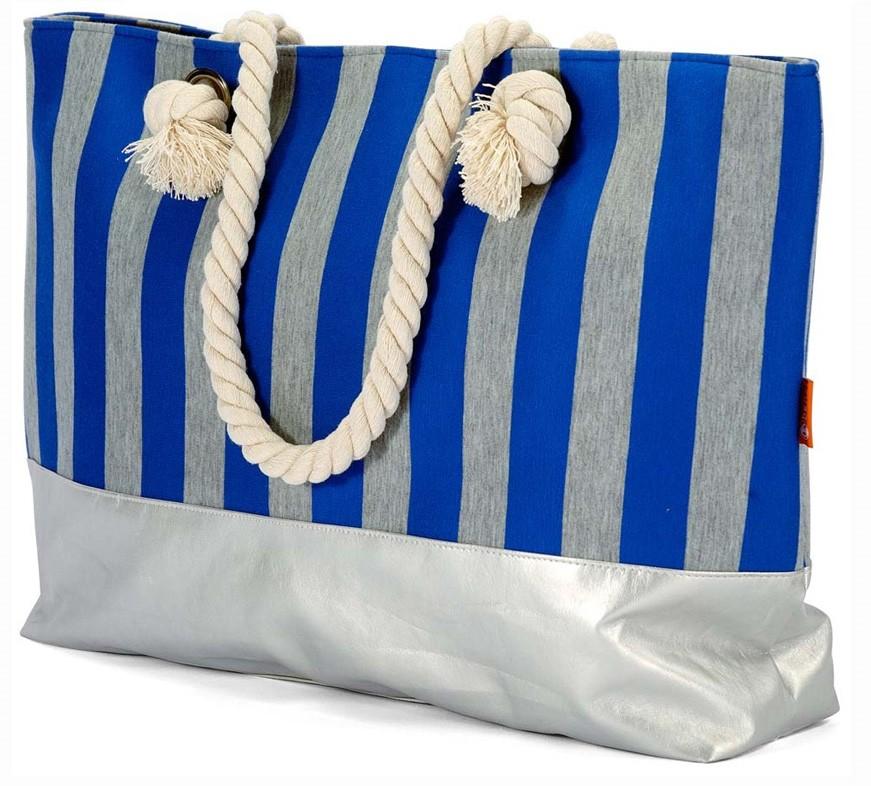 Τσάντα Παραλίας Benzi 4531 Blue home   θαλάσσης   τσάντες παραλίας