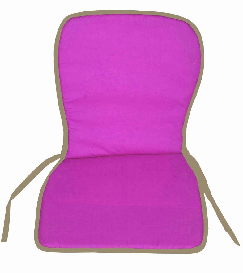 Μαξιλάρι Καρέκλας Κιθάρα Με Πλάτη Fratoni Fuchsia