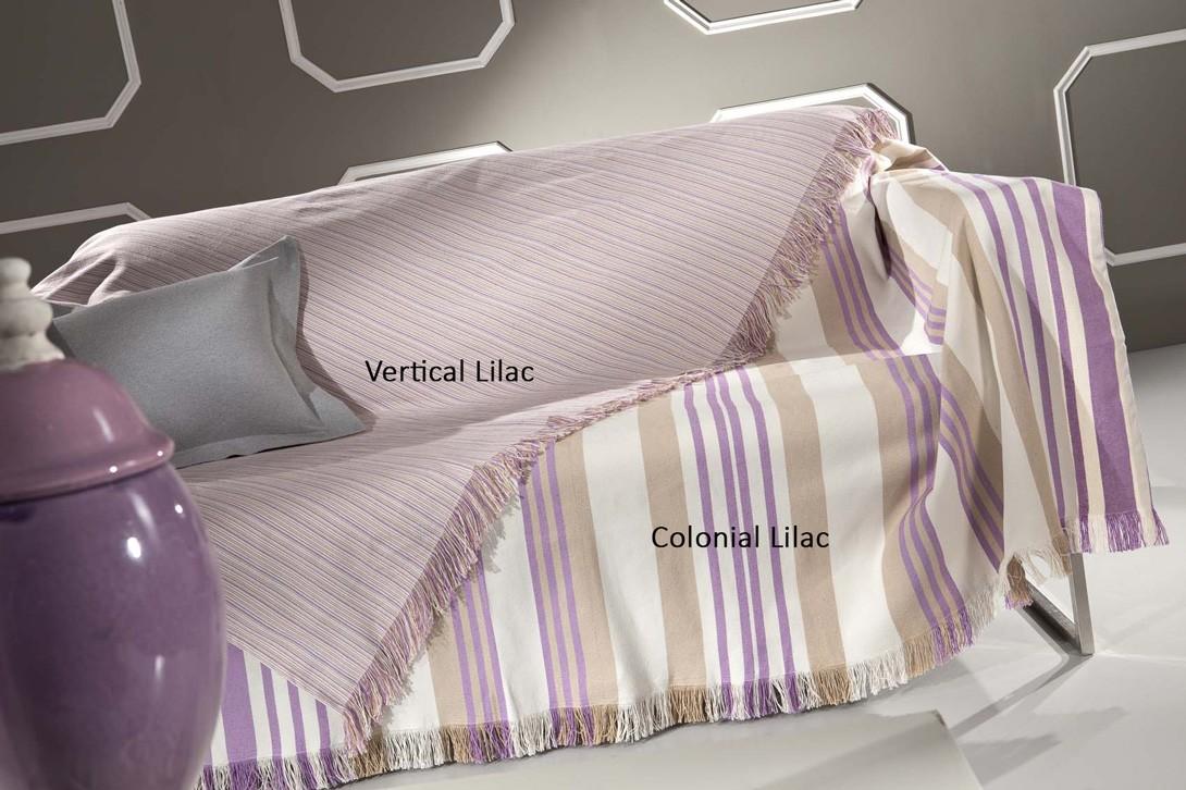 Ριχτάρι Guy Laroche Vertical Lilac 1-ΘΕΣΙΟΣ 170Χ150 1-ΘΕΣΙΟΣ 170Χ150