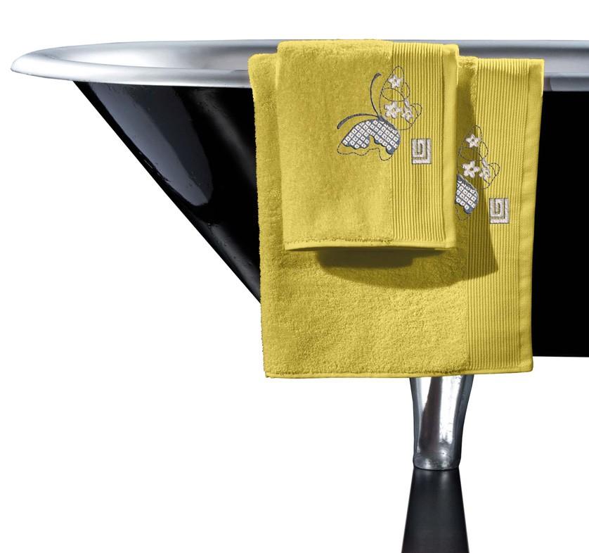 Πετσέτες Μπάνιου (Σετ 3τμχ) Guy Laroche Vista Lime
