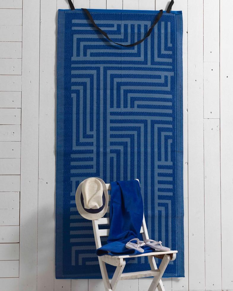Πετσέτα Θαλάσσης+Ψάθα Palamaiki Maze