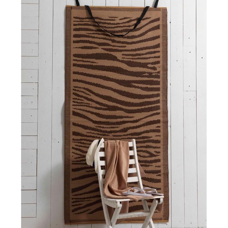 Πετσέτα Θαλάσσης+Ψάθα Palamaiki Zebra