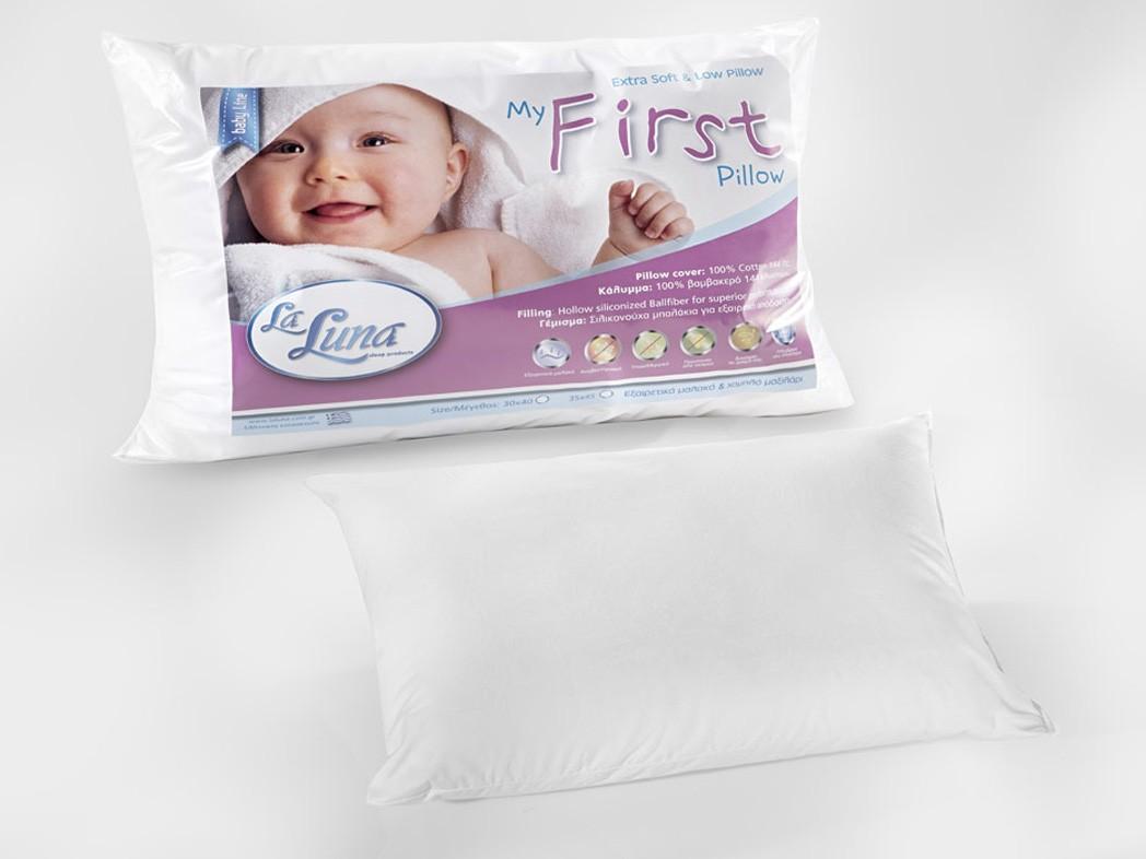 Βρεφικό Μαξιλάρι (30x40) La Luna My First Pillow home   βρεφικά   μαξιλάρια   επιστρώματα