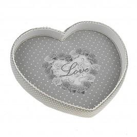 Δίσκος Σερβιρίσματος InArt Love In Dots 3-70-887-0052