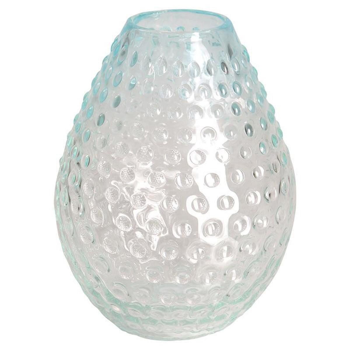 Διακοσμητικό Βάζο InArt Boulders Crystal 3-70-372-0014 54285