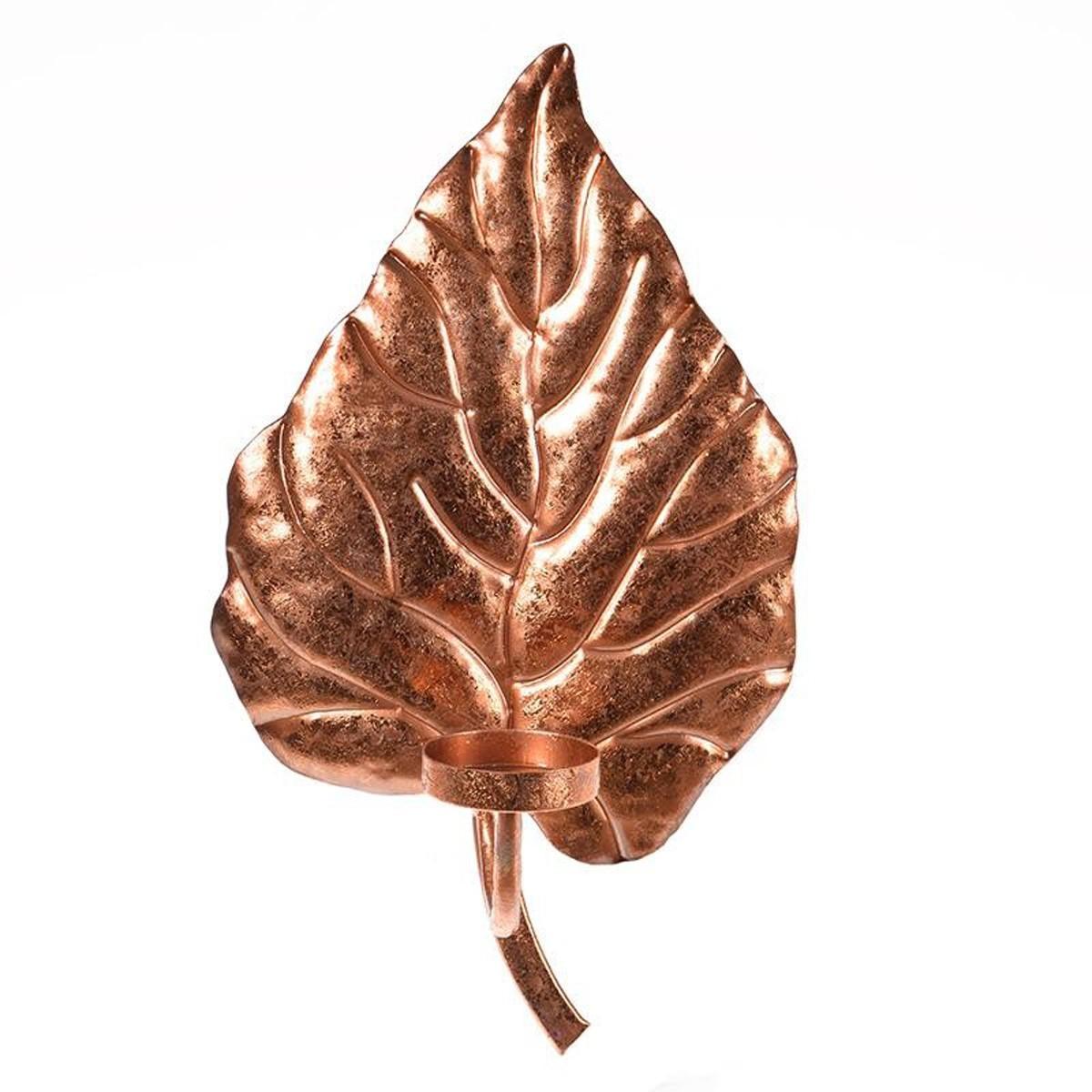 Κηροπήγιο Τοίχου InArt Autumn Leaf 3-70-626-0030 home   διακόσμηση   διακοσμητικά τοίχου