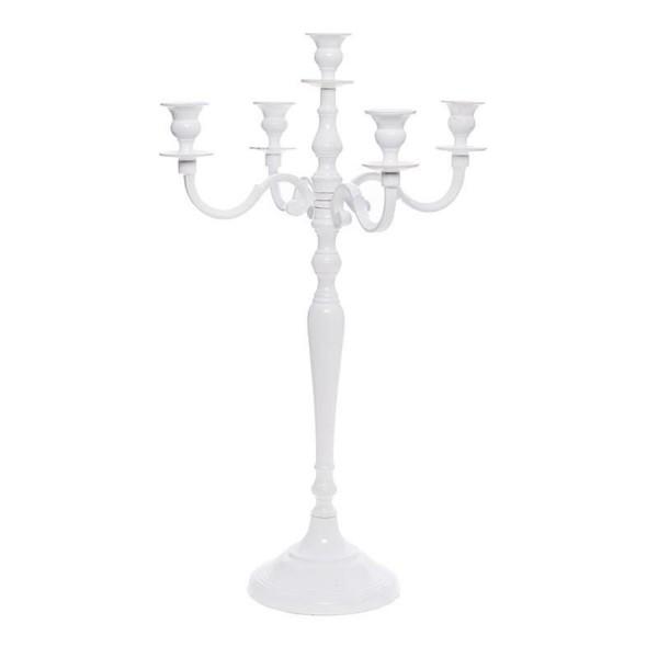 Κηροπήγιο 5 Θέσεων InArt Candelabra White Large 3-70-464-0030